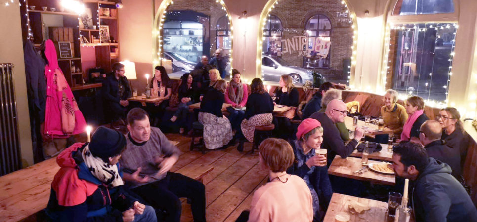 The Inaugural Worthing and Beyond meeting - Creatives gathered at the Libertine in Worthing